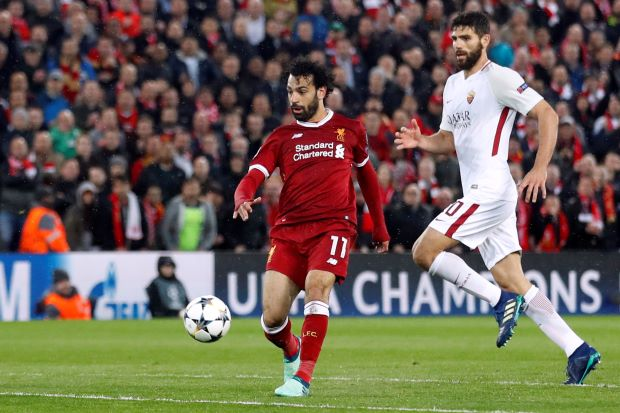 Mohamed Salah's Champions League performance gives Egyptians 'goosebumps'