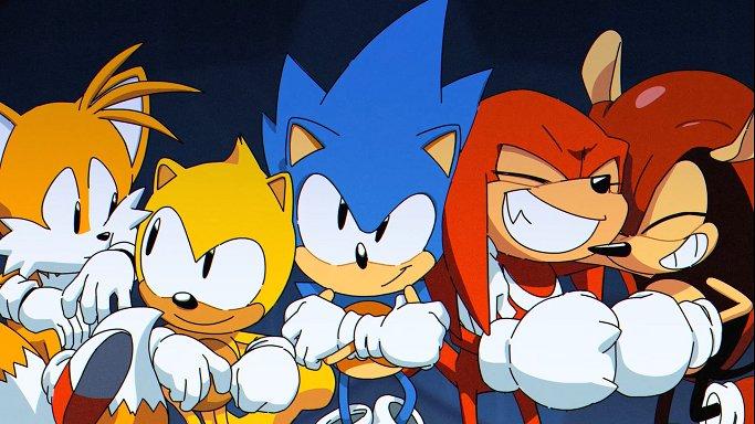 Sonic Mania Plus arrives July 17th! https://t.co/5b7B7bdHO0