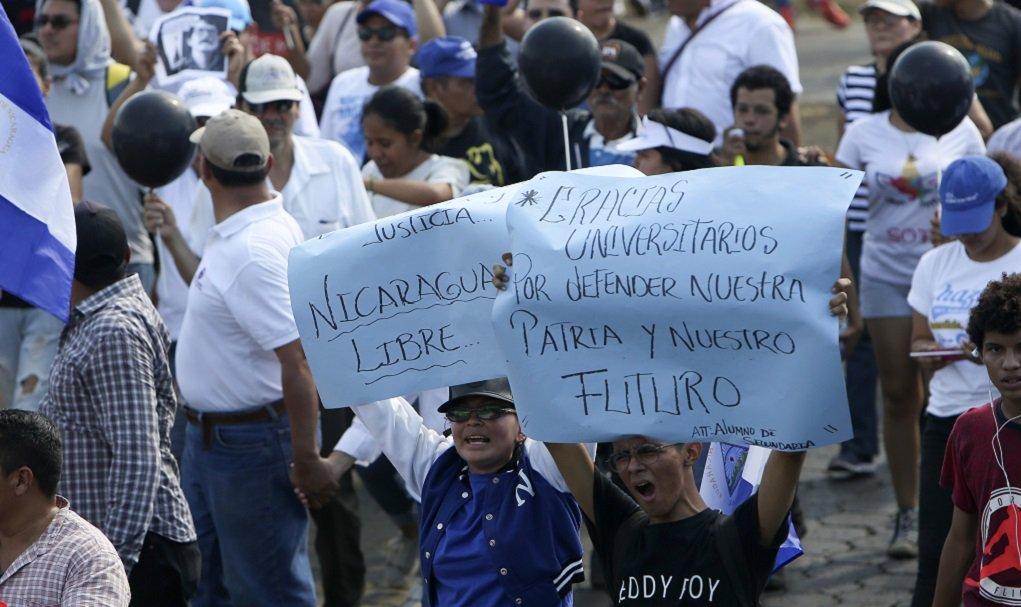 test Twitter Media - Νικαράγουα: Τουλάχιστον 34 νεκροί κατά τη διάρκεια 6ήμερων διαδηλώσεων  https://t.co/NQ2g0ZK1rG https://t.co/KIJDNWHtj3