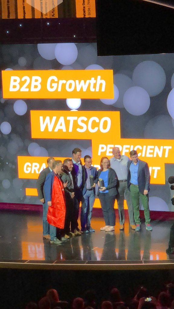 BakerDist: Congrats to our #eCommerce team and the teams of our sister companies for their award at #MagentoImagine https://t.co/LbYIGjbLSK