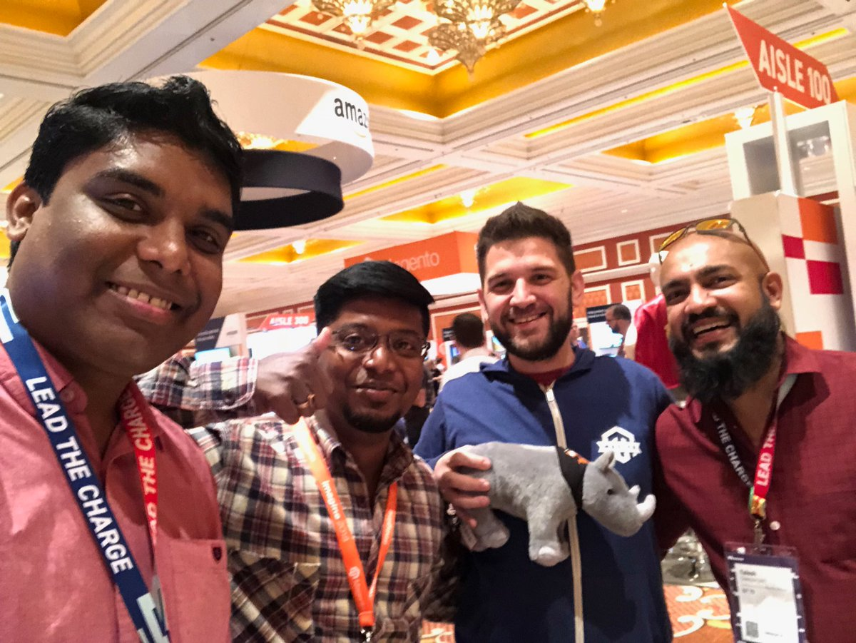 BeingtheShiva: With @mbalparda and @_Talesh #MagentoImagine https://t.co/Q1ejGDmHYF