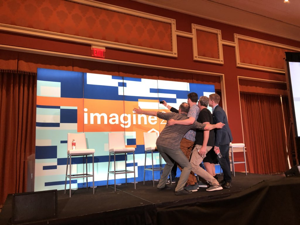 st4nsm: PWA session started at #MagentoImagine https://t.co/3miHyddVhM
