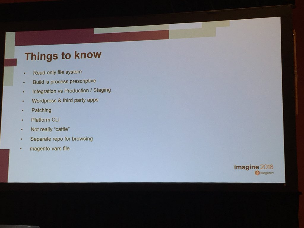 benjaminrobie: Things to know about development in the cloud - #MagentoImagine https://t.co/CXFZ2RX4fe