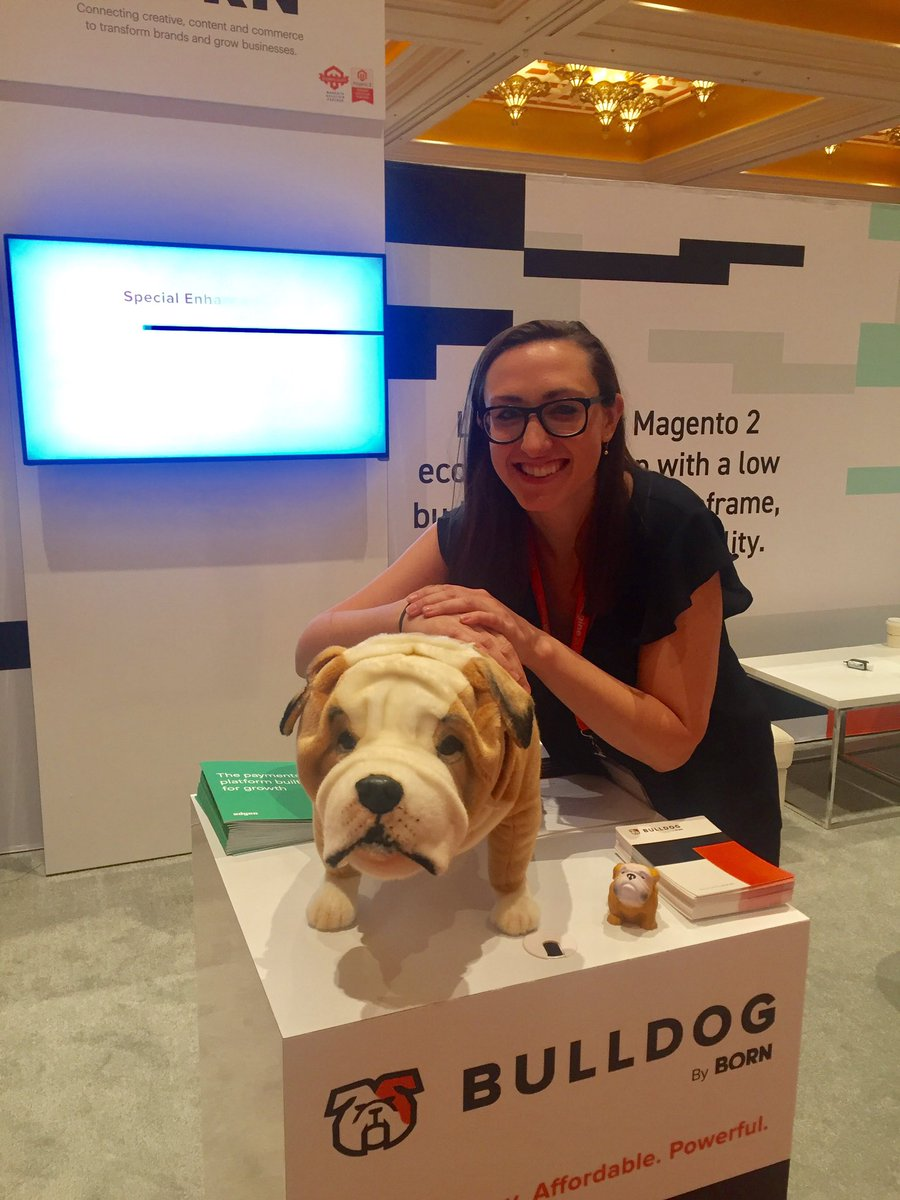 thisisborn: Are you at #MagentoImagine? Come meet Nutmeg at booth 202!! #imagine2018 https://t.co/x51r1lcTr2