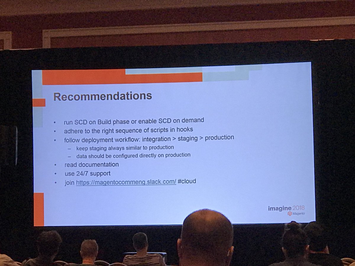 SheroCommerce: Tips & recommendations for #MagentoCloud #magentoimagine @magento https://t.co/73iAfTsylX