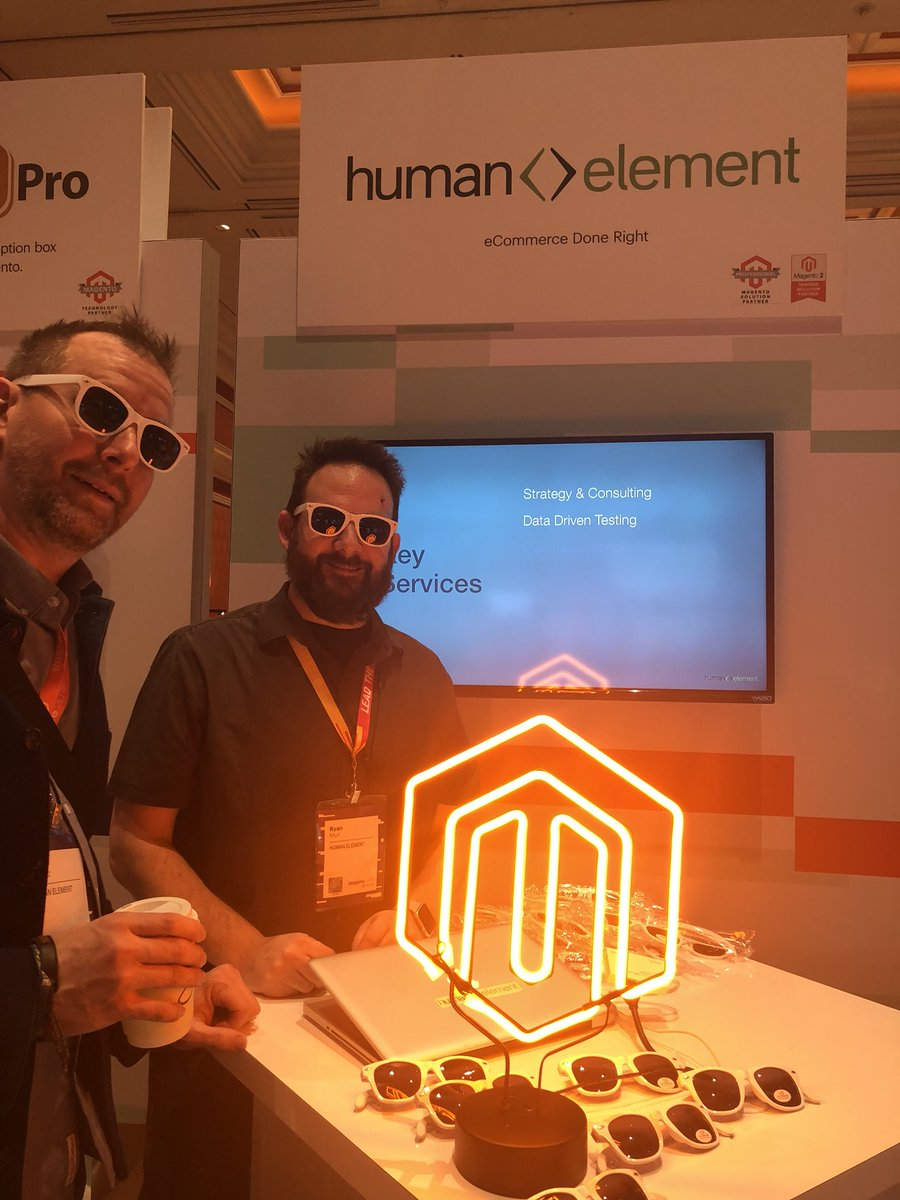 DreeZiegs: Magento Imagine. So hot right now. #MagentoImagine2018 #magentoImagine @HumanElementA2 https://t.co/6olUN2FQUJ