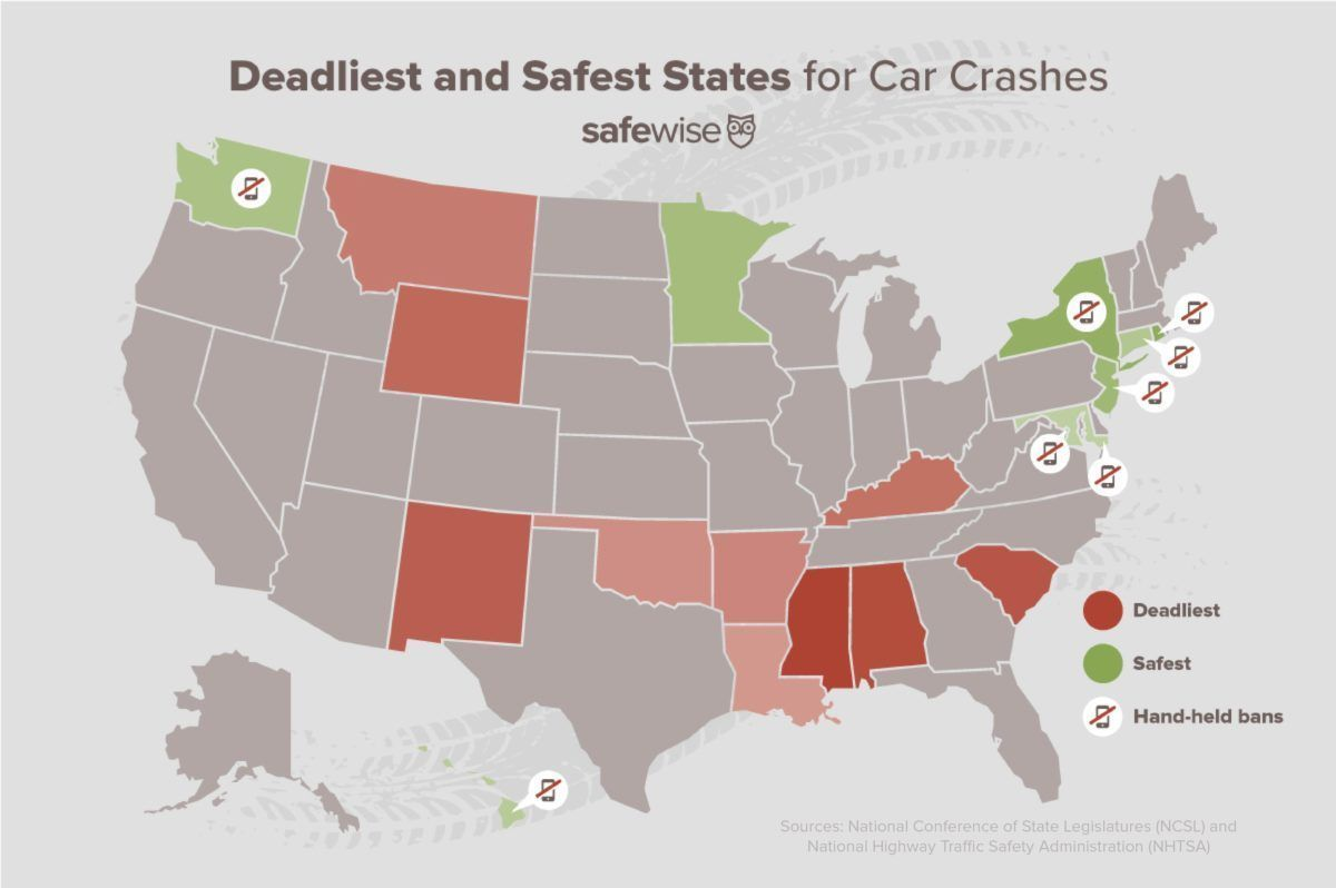 SC ranked No. 3 deadliest state for fatal car crashes, study say - | WBTV Charlotte