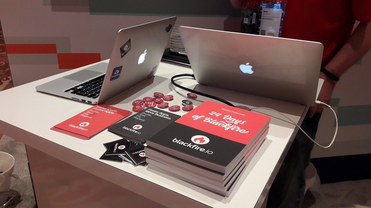 blackfireio: Not so many #24DaysOfBlackfire books left #MagentoImagine ! Make sure to get yours at booth 45! https://t.co/T1dLZ5Rz1I