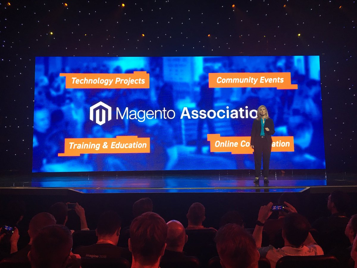 SkellyTweeter: LOVING the concept of Magento Association! @Creatuity will Lead the Charge!! #MagentoImagine https://t.co/F0r2VCTxxH