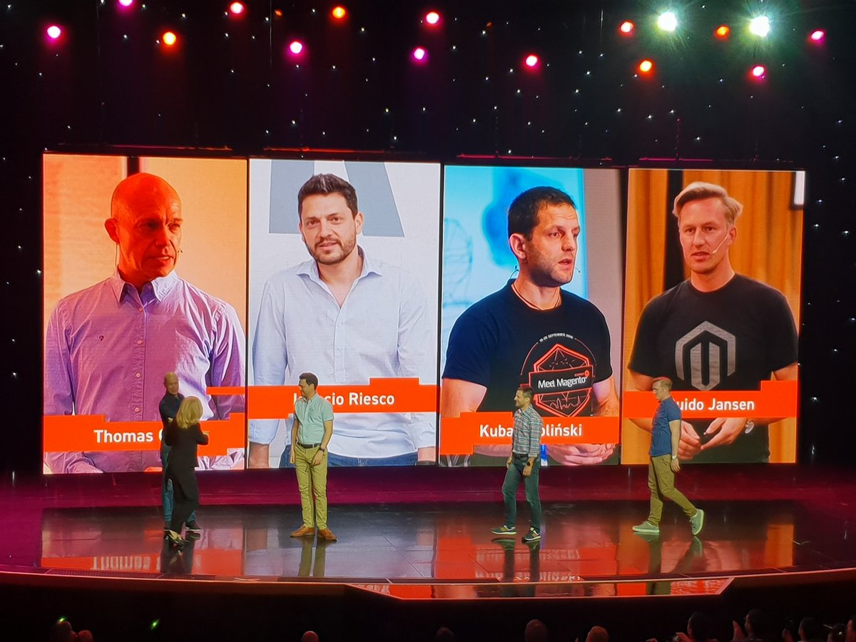 flagbit: Nice to see @magento teaming up with @meetmagento for Magento Association #MagentoImagine https://t.co/HcYwkknjKu