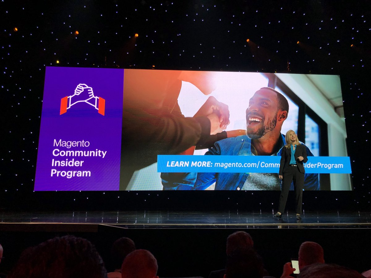 sylvainraye: For startup or small magento agencies, a new partner programm is available #magento Insider Program #magentoimagine https://t.co/qNx3kBazBW