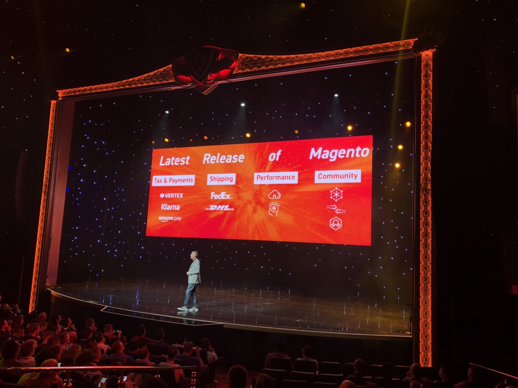 maksek_ua: #MagentoImagine  latest release and Community contributions https://t.co/d1wVxrXKH5