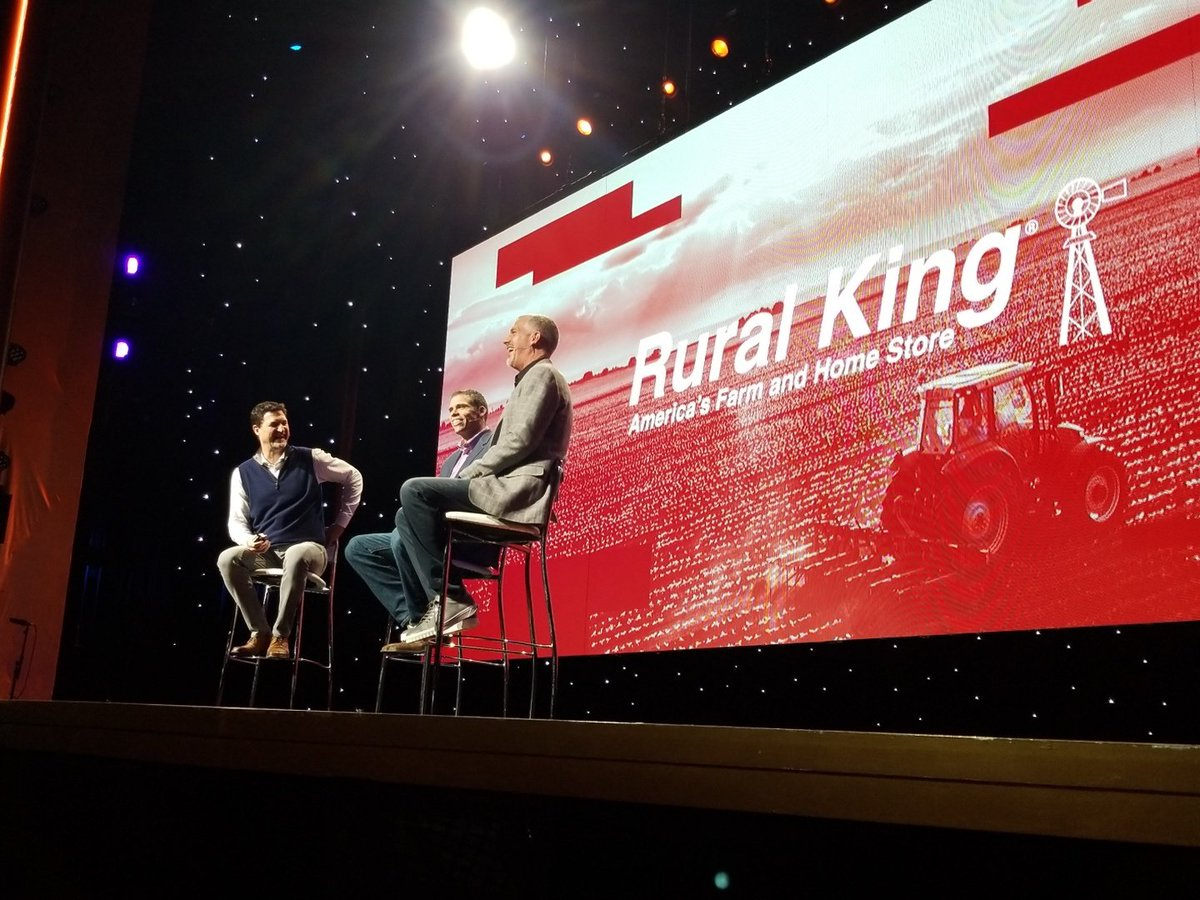 andrewfiggins: @ruralkingsupply CEO Alex Melvin keynote with @mklave1 @jasonwoosley_mg at #MagentoImagine 2018 #LeadTheCharge https://t.co/rN3wlP5yuQ