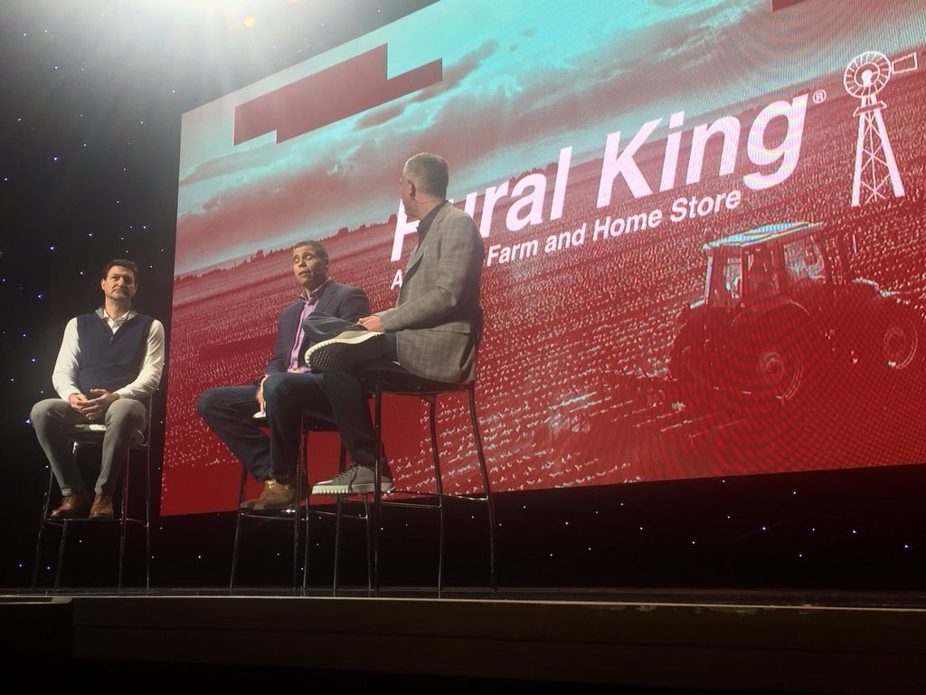 DCKAP: Rural King on stage with @mklave1 and @jasonwoosley_mg #MagentoImagine https://t.co/q06ZyjwK4N