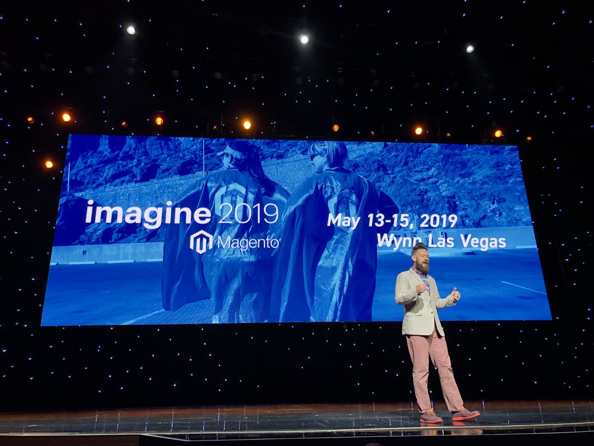 sylvainraye: Book your daye for #magentoimagine 2019 13-15.05.19 https://t.co/XO4pxAhsAb
