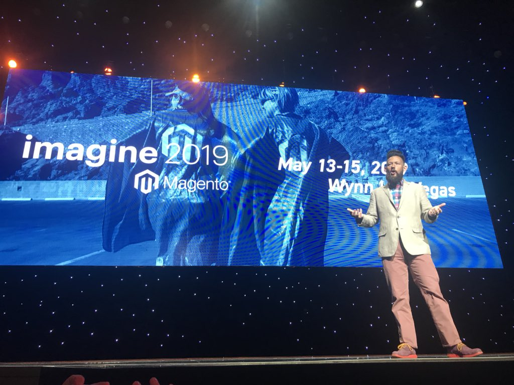 bobbyshaw: #magentoimagine 2019 back at the Wynn May 13-15th. https://t.co/Qp2cSBozsq