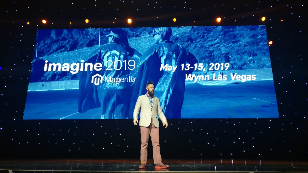 sherrierohde: May 13-15, 2019. Be there. #MagentoImagine https://t.co/LOMCUPCVsT