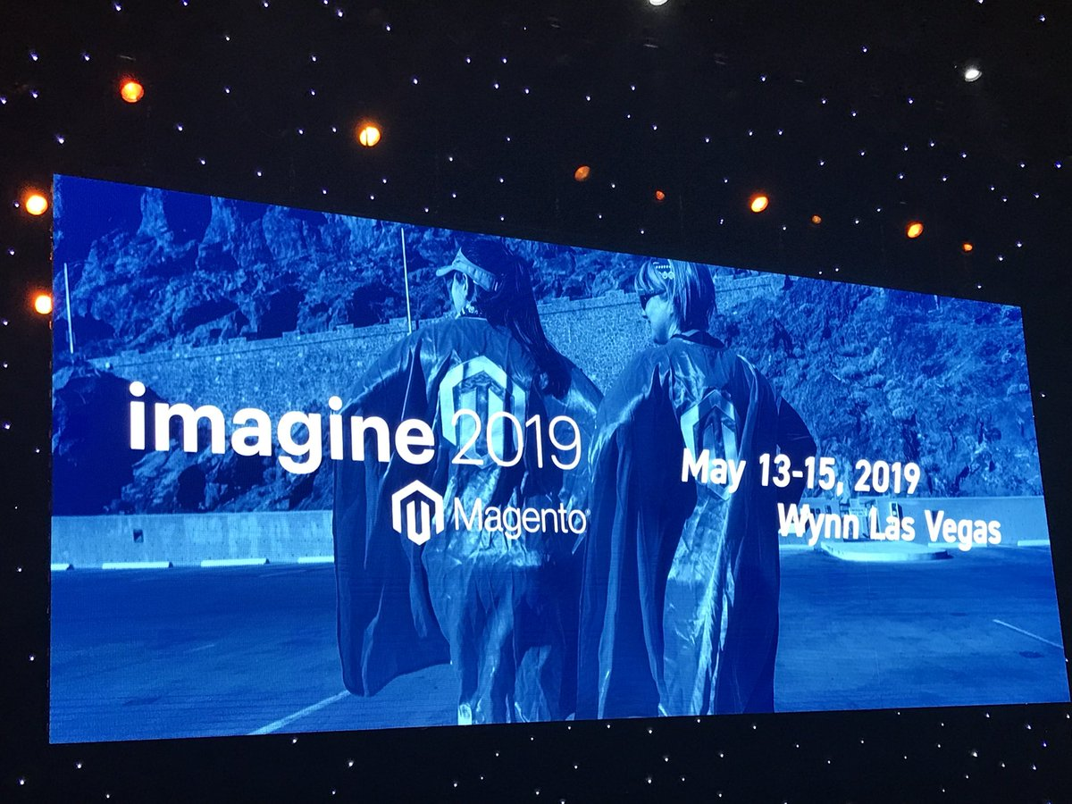 magentogirl: See you in May 2019 for #MagentoImagine https://t.co/KAkeRQJBzb