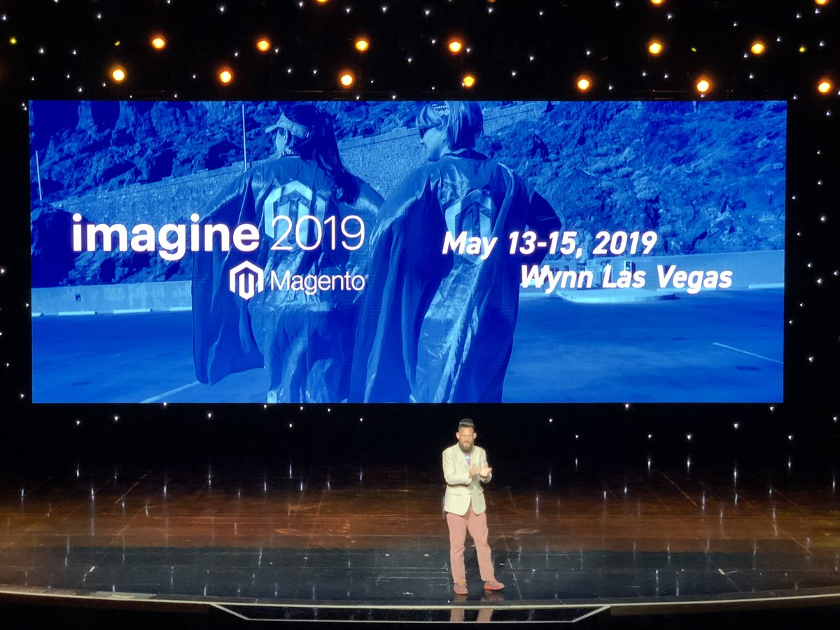 jhuskisson: Team @weareJH will see you next year. May 13-15th 2019 at the Wynn. #MagentoImagine https://t.co/hV7PsmMwur