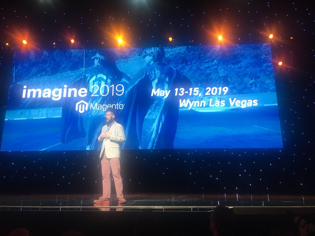arjenmiedema_nl: #MagentoImagine will be back in Vegas next year on May 13-15. That will be crazy hot 🔥 https://t.co/Yxtrq4HuGm