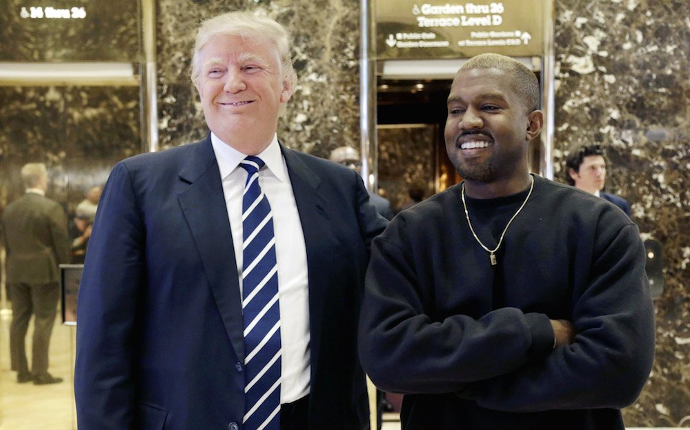 "Trump thanks Kanye West after the rapper's supportive tweets: ""Thank you Kanye, very cool!"""