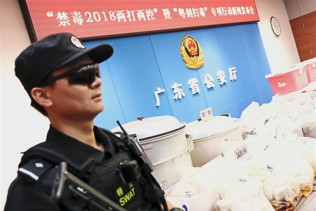 China bags biggest coke haul 1.3 tonnes from South America seized and 10 detained - ASEAN/East Asia