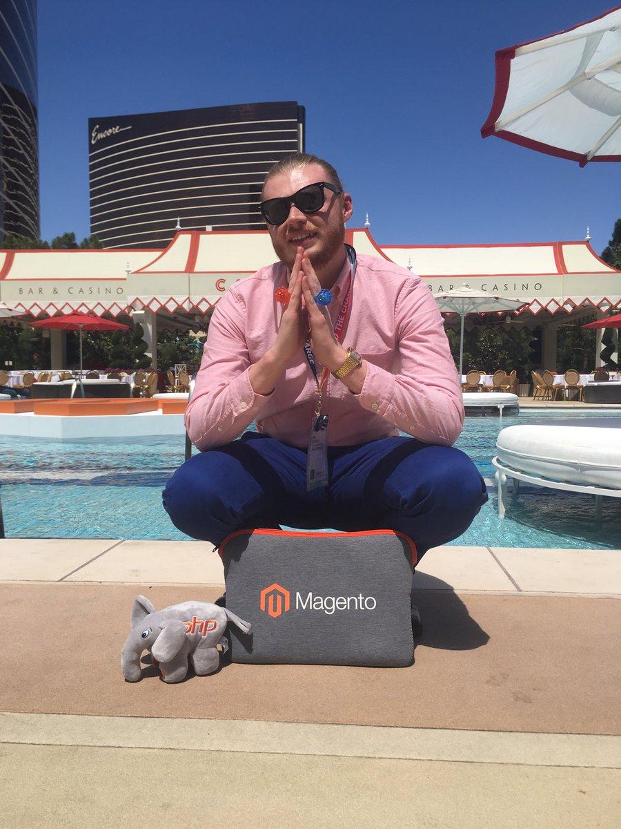 KyleBansavage: MageModel v4 #MagentoImagine https://t.co/zoEJGiVKCh