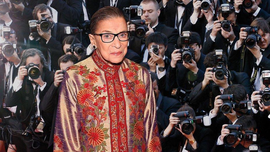"Ruth Bader Ginsburg ""loves"" her upcoming biopic, director says"
