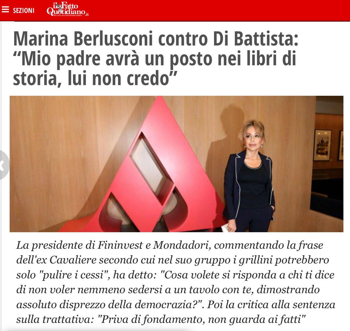 #MarinaBerlusconi