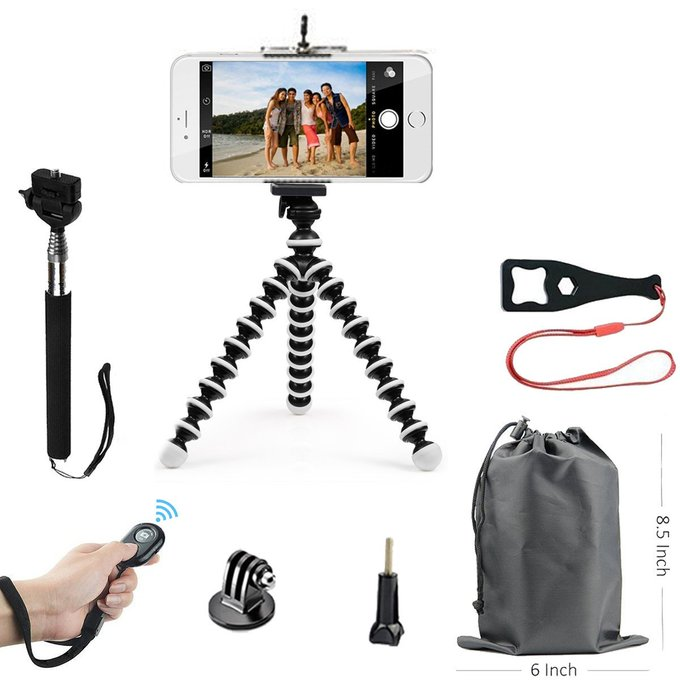Lightweight Mini Cell Phone Tripod Kit for $11.99 – Best Price! https://t.co/J43MLKorZ3 https://t.co/NDsnxKqkHS