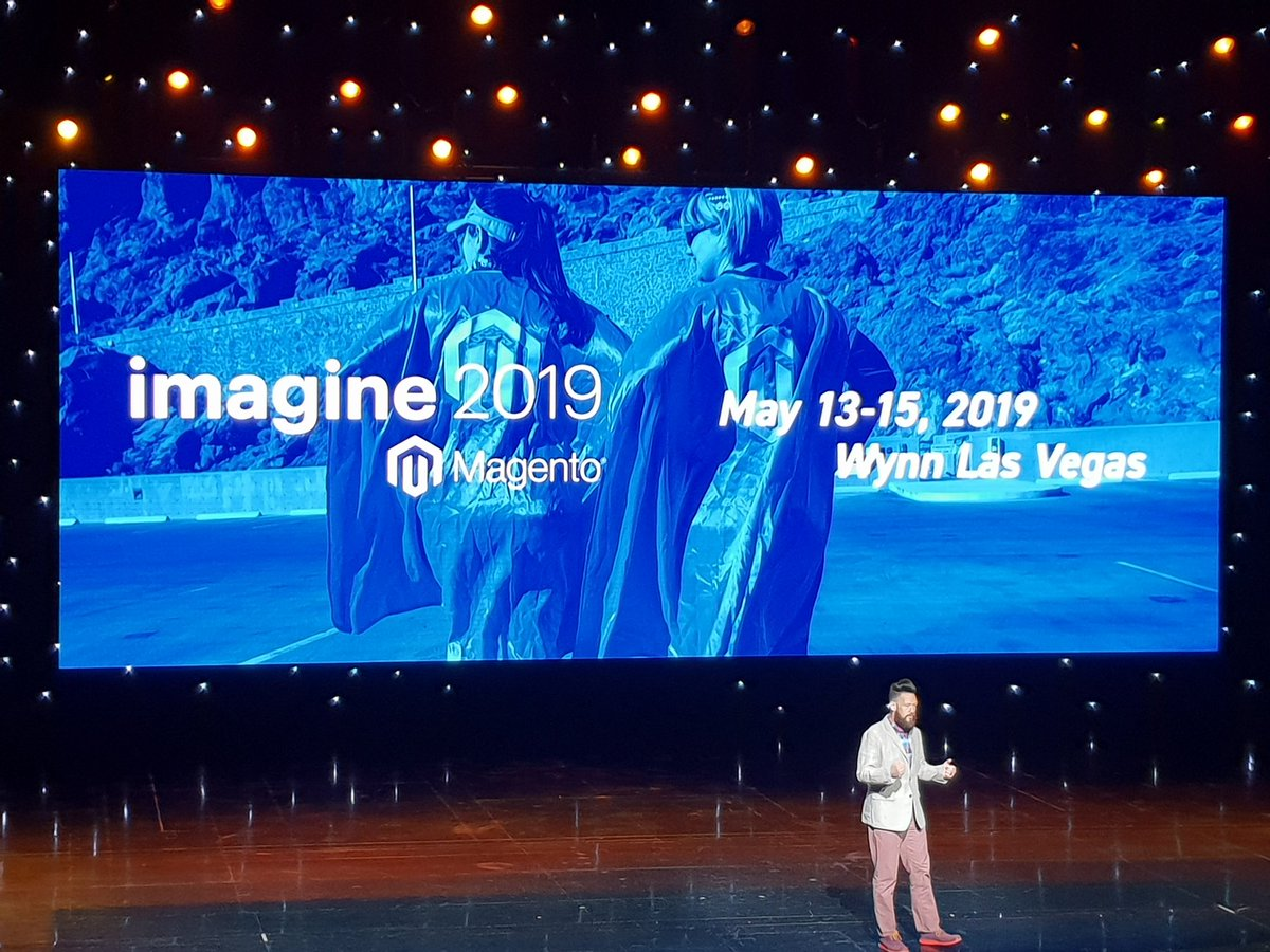 flagbit: Thx @magento a really awesome #MagentoImagine 2018! Looking forward to an amazing year. https://t.co/H4saSTa4Du