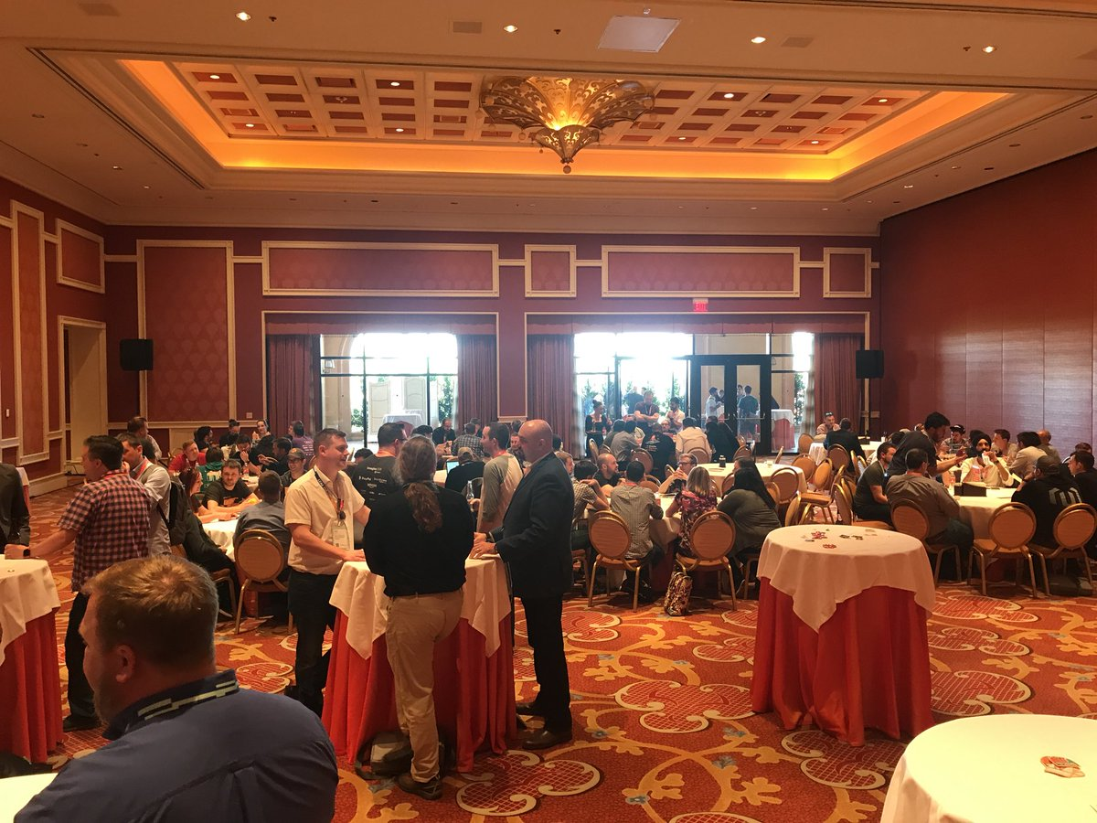 wearejh: Incredible turnout for the #MagentoImagine developer exchange. https://t.co/IjCtCfiwwE