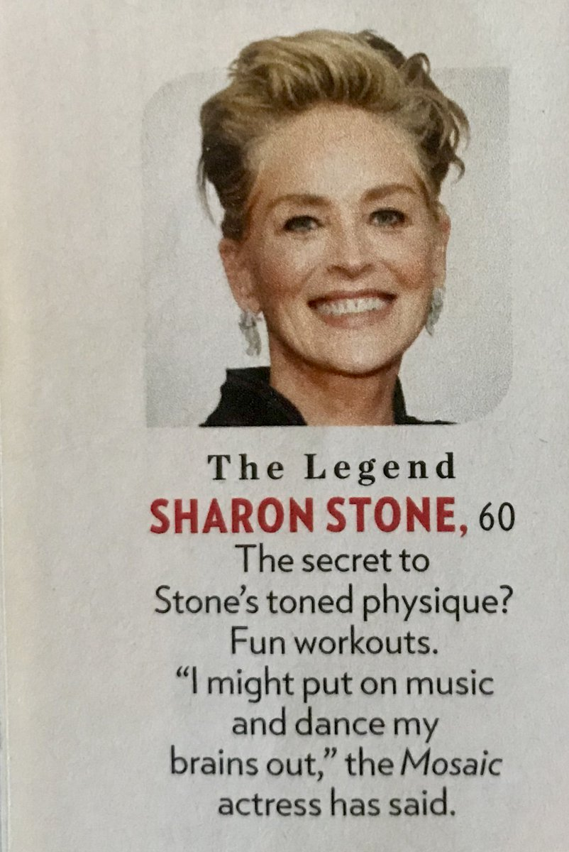 Finally... I'm a Legend! And NOT in just in my own mind !! ???? @people #TheBeautifulIssue2018 https://t.co/dJs1MjHhDT
