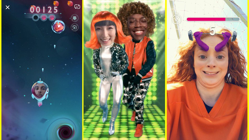 You'll look ridiculous playing Snapchat's new AR games, and maybe that's OK https://t.co/TY3fDDJDsI https://t.co/3nP6IgqFOf