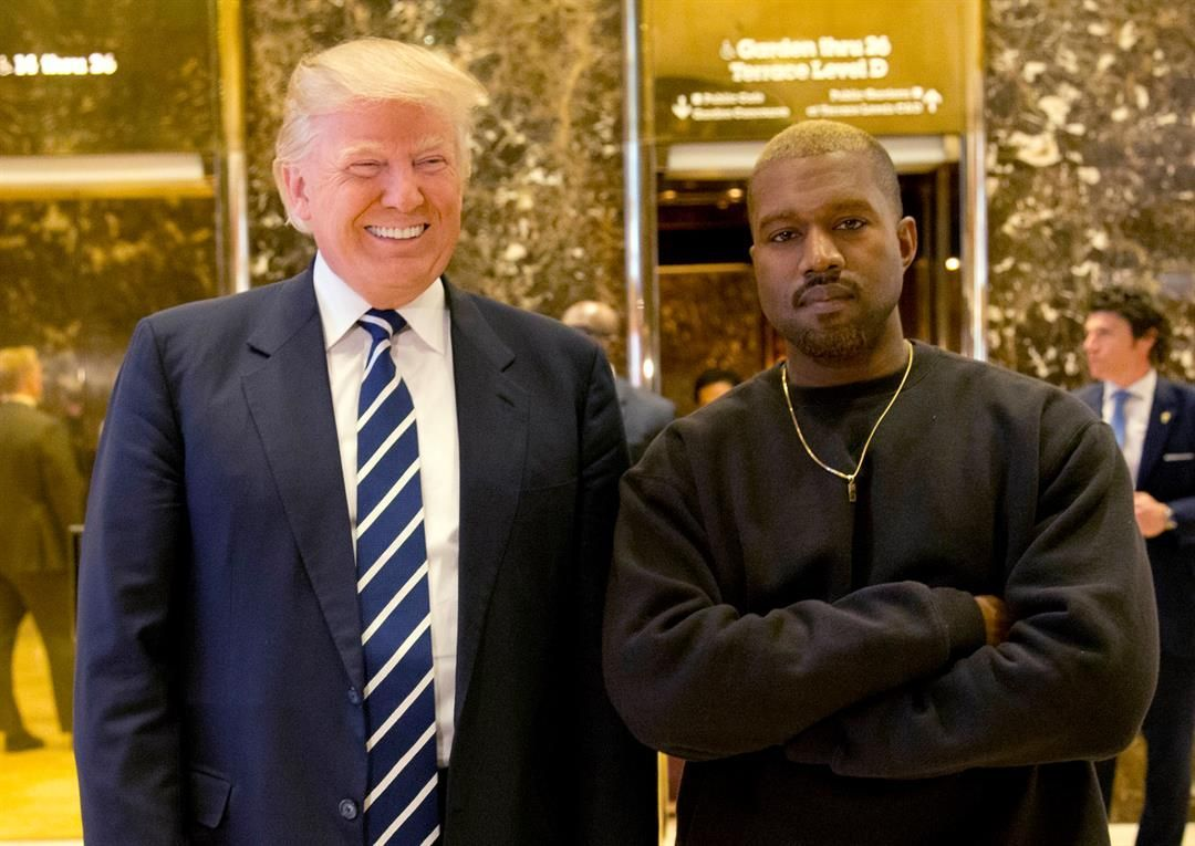 Oh, Yeezus: Trump and Kanye West trade Twitter love - | WBTV Charlotte
