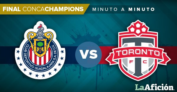 #Concachampions | ¡Arranca la Final en Guadalajara!  ������@Chivas vs. @torontofc ♦����  https://t.co/iqkQ7kx11E https://t.co/JJoOWECywx
