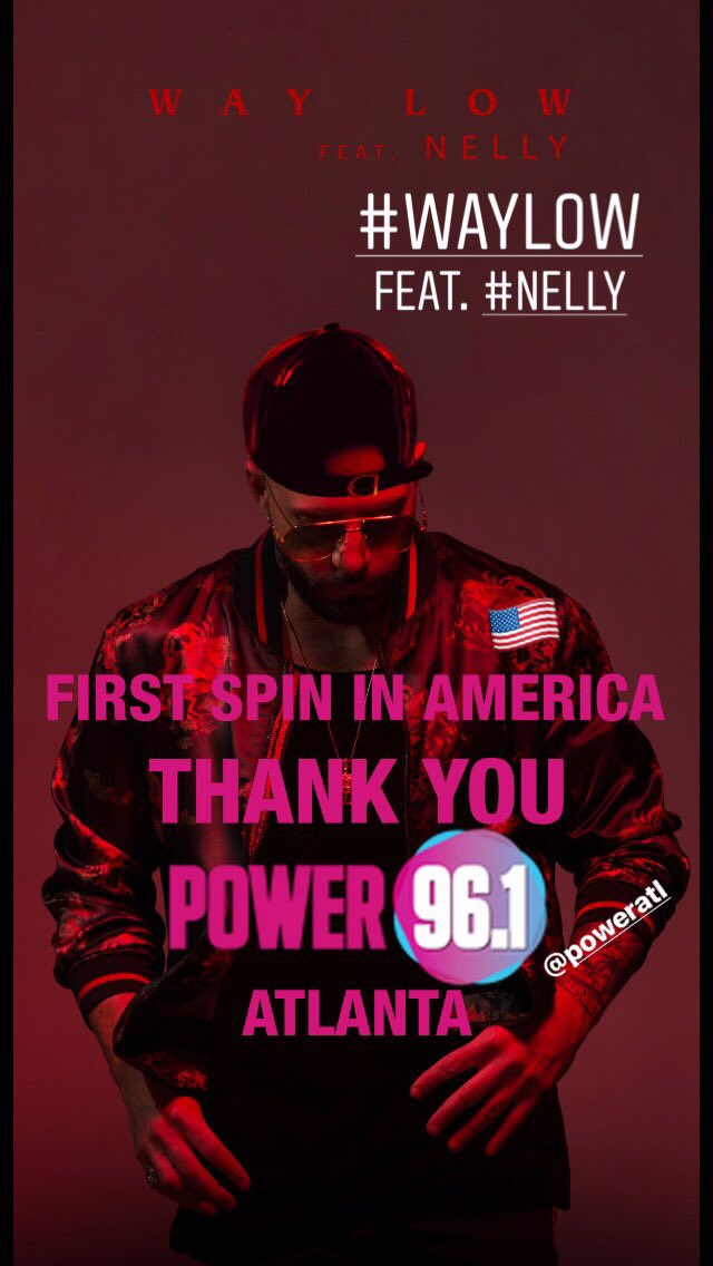 RT @KARLWOLFs: Big shoutout to @POWERATL for the first spin in America ???????? of my new single #WayLow feat. @Nelly_Mo! https://t.co/8RLpI5sCkj