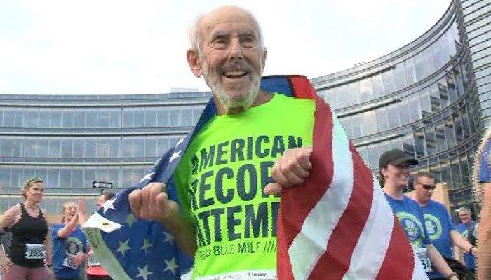 96-year-old runner breaks American record - | WBTV Charlotte
