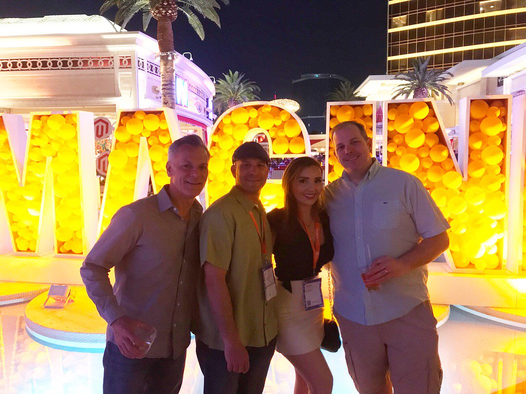 BlueSnapInc: Successful trip in Vegas for #magentoimagine! Thanks for having us @magento 🎉👏🏼 https://t.co/LoIqbTUfuz