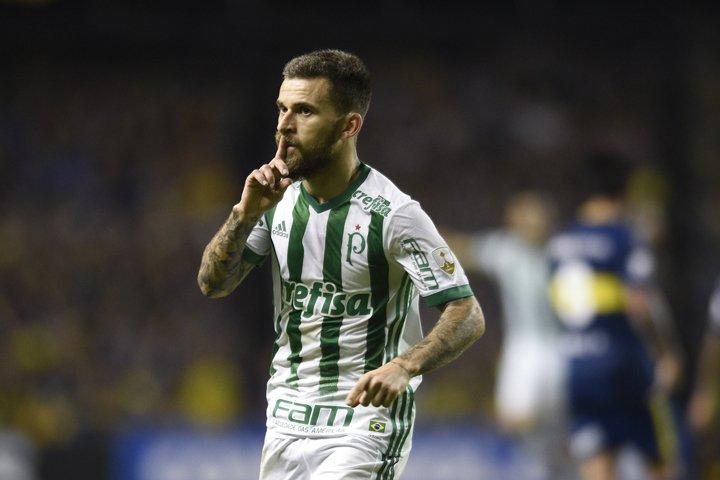 @BroadcastImagem: Palmeiras vence o Boca na Argentina e se classifica às oitavas da Libertadores. Gustavo Garello/AP