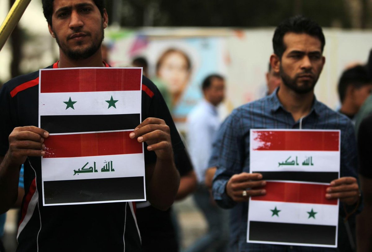 Can Iraq get the U.S. to join Russia and Iran's war against ISIS in Syria?