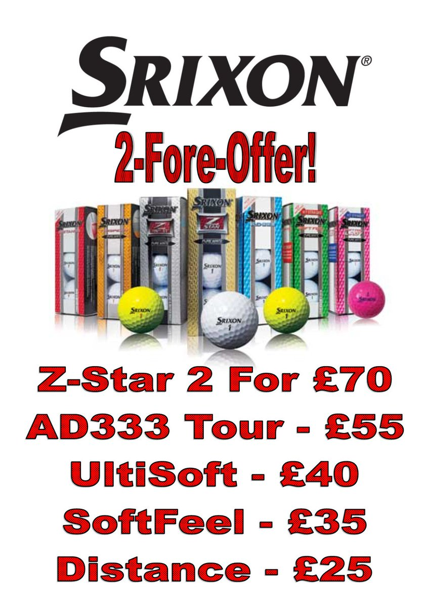 test Twitter Media - The latest Pro Shop #Offers @CottrellParkLtd  Huge #savings on @FootJoy #Golf Shoes - Save up to 40%. Massive #Discount on Golf Balls from @Titleist and @SrixonGolf. Plus the latest 2018 @UnderArmour and @PowaKaddy_Golf stock is now available!! Call 01446 781781 for more details. https://t.co/OsfphEMYpH