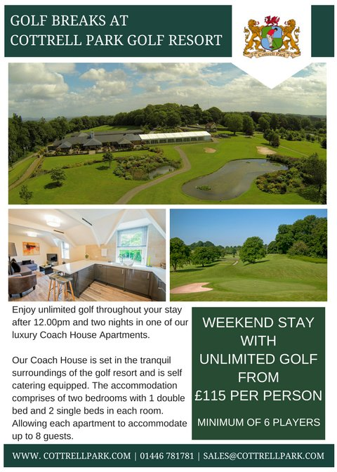 test Twitter Media - Looking for a Golf Break at an amazing price? At Cottrell Park we tailor our packages to suit your requirements. Call 01446 781781 Option2 or email sales@cottrellpark.com for more information https://t.co/CG3vsLcXv2