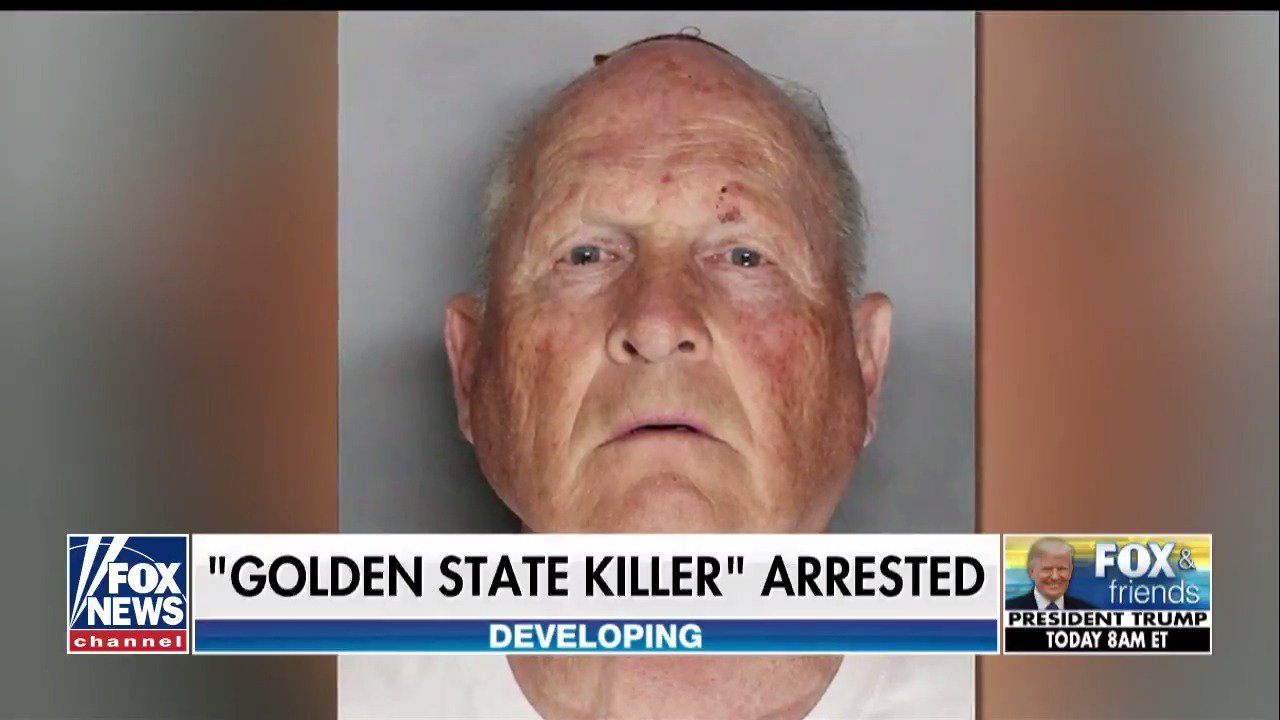 Golden State Killer suspect arrested in California https://t.co/IYMoCkcKAO https://t.co/SV5aMkLXIz