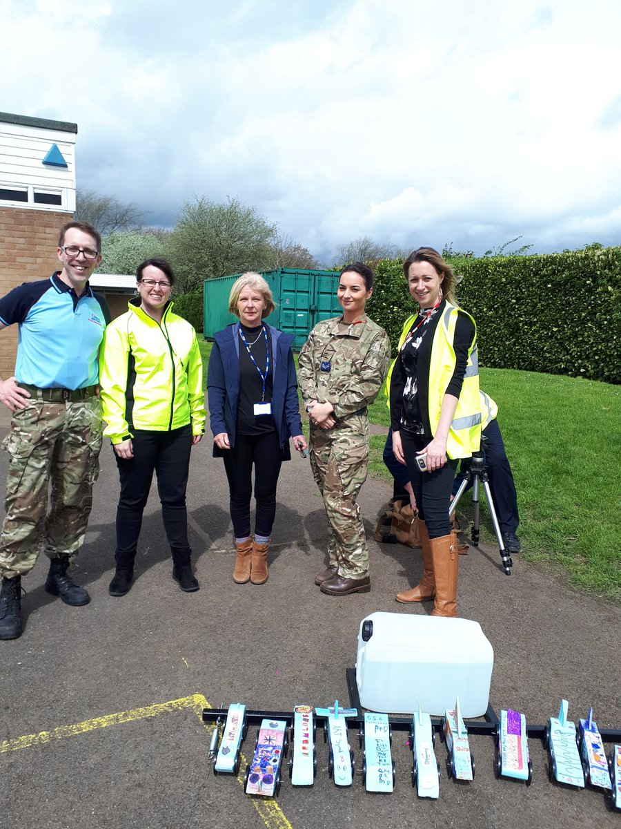 test Twitter Media - RT @edith_moorhouse: A huge thanks to Mrs Evans @CartertonComm and @RAFBrizeNorton https://t.co/JoJd4SnAmR