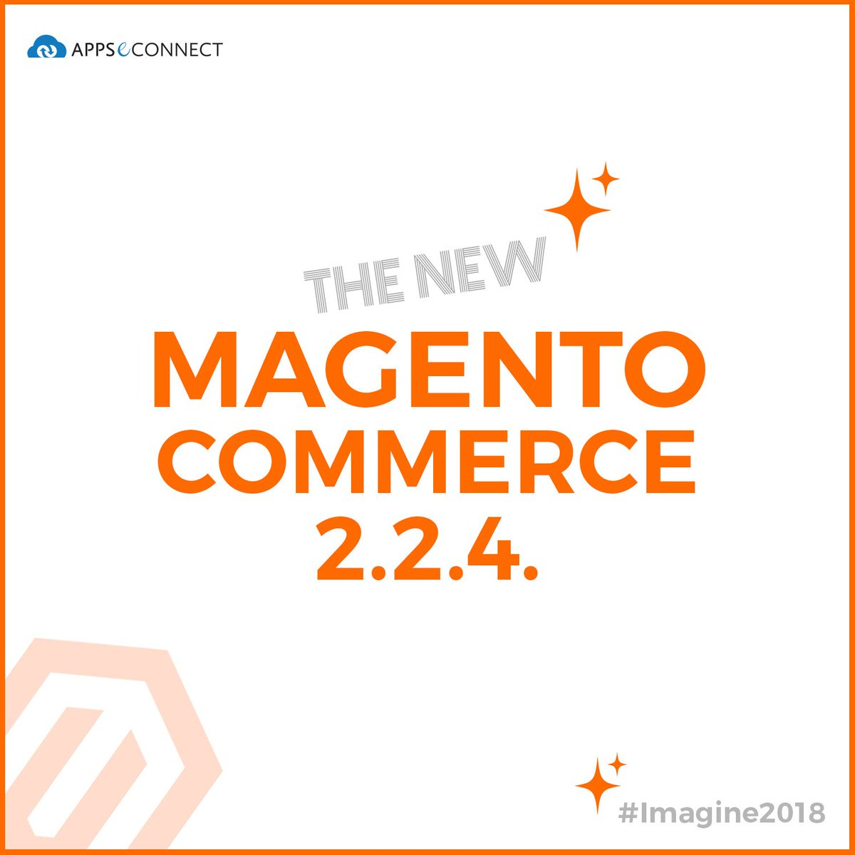appseconnect: #Magento 2.2.4 is here!nnMagento announced it's latest version - 2.2.4 at #MagentoImagine 2018! #Magento2 https://t.co/QtoXZr2m8t