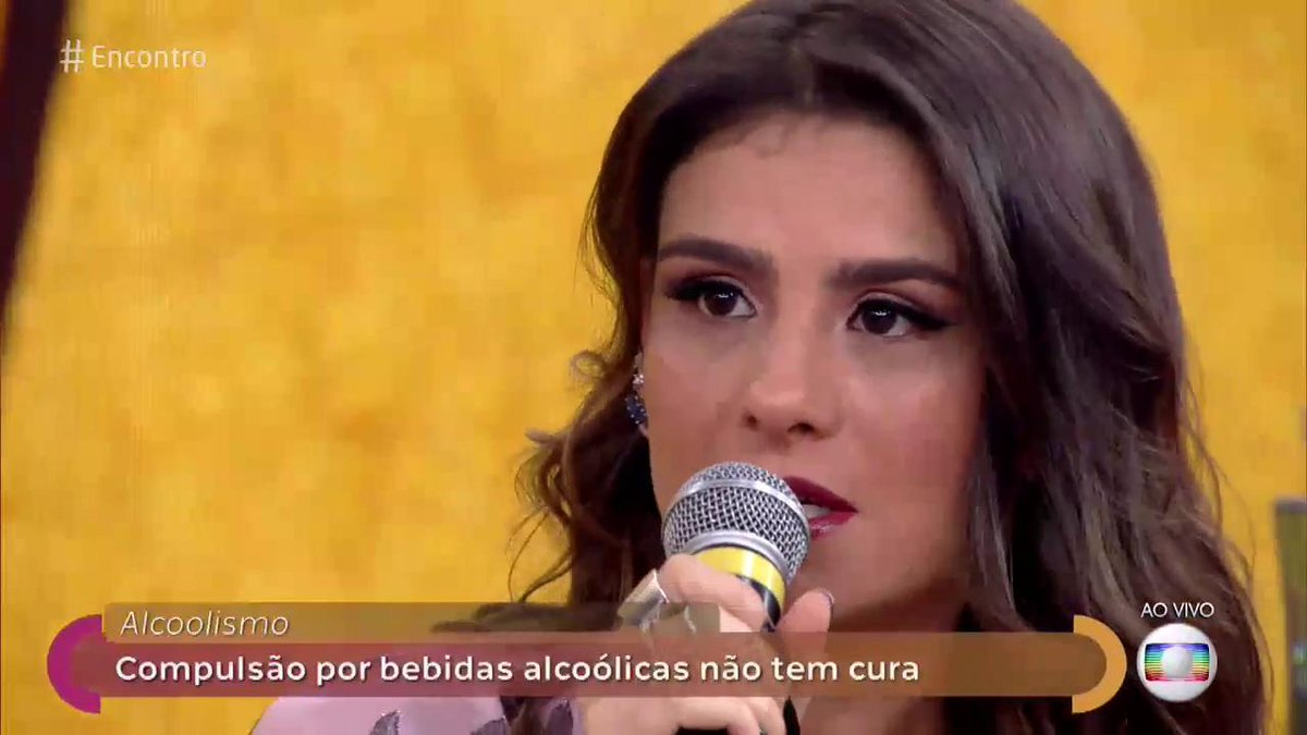 RT @RedeGlobo: Alcoolismo é uma doença, não é falta de força de vontade. #Encontro https://t.co/Em928G0KjB