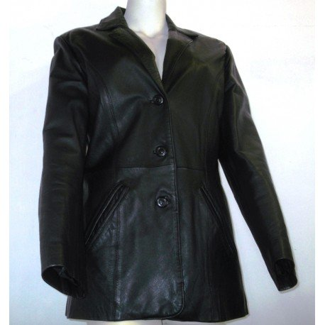 Veste cuir - 85,00 €  #Cuir #veste : https://t.co/SqCnmgYDgd https://t.co/nFUFSfzB3H