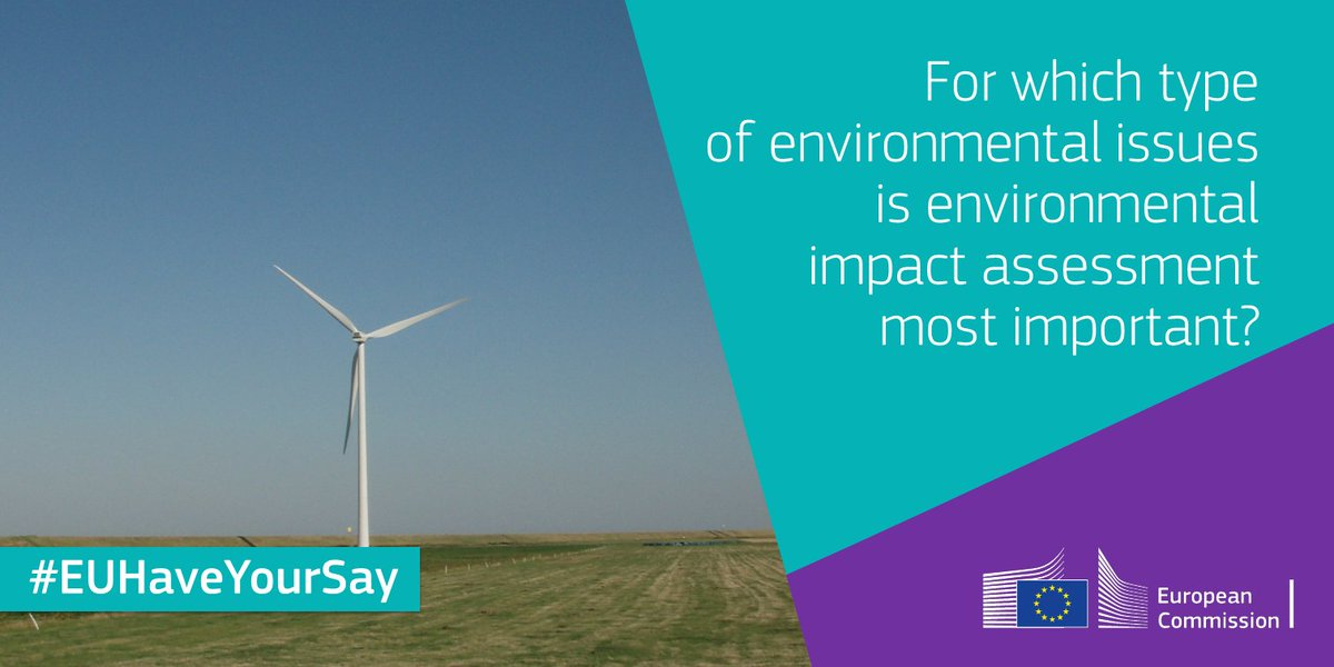 test Twitter Media - Help us improve our Strategic Environmental Assessment by telling us for which type of plans you feel environmental impact assessments are very important from an early stage on! #EUHaveYourSay in our public consultation - the deadline ⏰ is tomorrow! ➡️ https://t.co/lNkDUbwIC6 https://t.co/N6eihjd1fQ