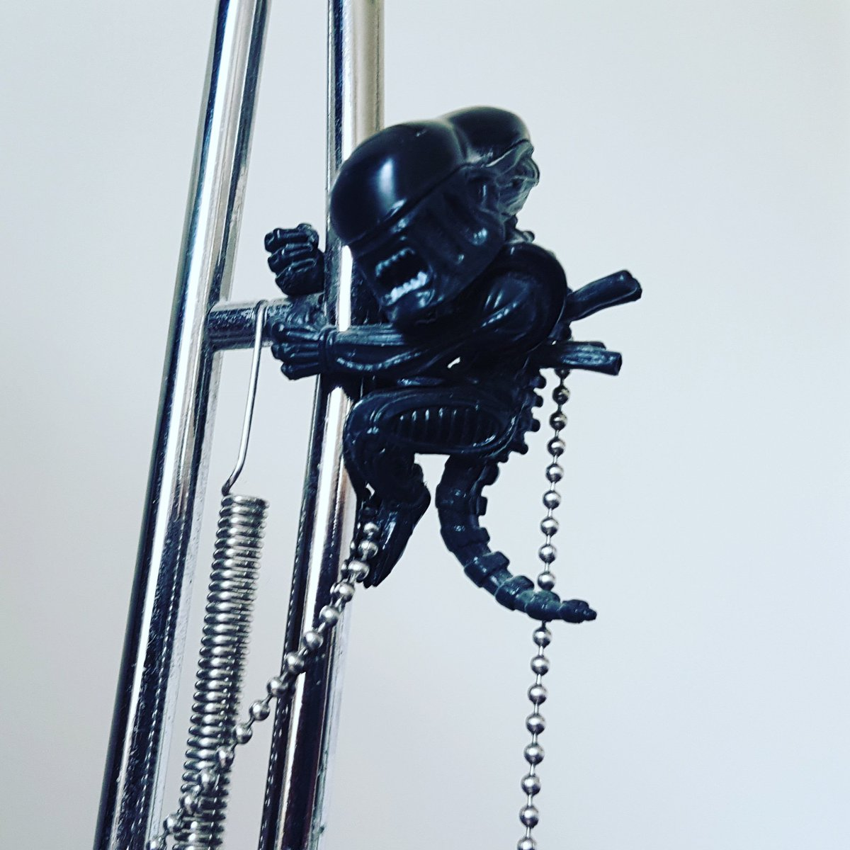 test Twitter Media - I tried buying a Xenomorph action figure for #AlienDay but couldn't find any. This li'l guy will have to do, though I might rewatch Alien & Aliens 😃 https://t.co/pujcHgaD7x